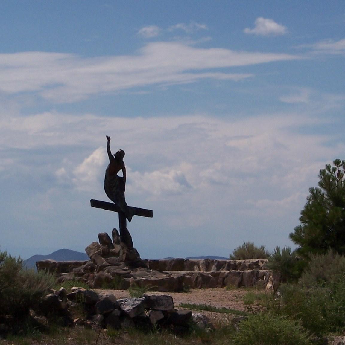 """""""Resurrection"""" by sculptor Huberto Maestas   San Luis, Colorado"""